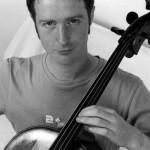 Joe Giddey Cello Black and White